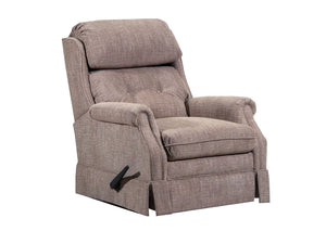 WEEKLY or MONTHLY. Bennington Recliner in Latte