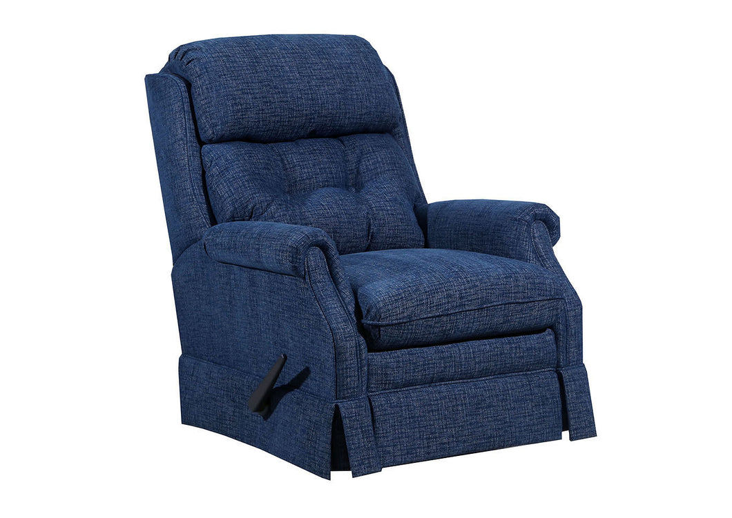WEEKLY or MONTHLY. Bennington Recliner in Ocean