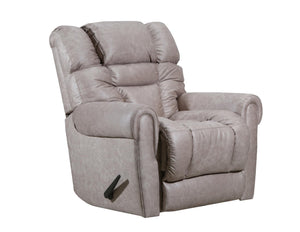 WEEKLY or MONTHLY. Gaitlin POWER Rocker Recliner in Taupe