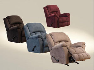 WEEKLY or MONTHLY. Bingham Cinnabar Rocker Recliner with Heat and Massage