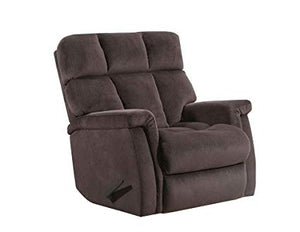 WEEKLY or MONTHLY. Alsache Recliner in Chocolate