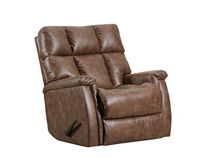 WEEKLY or MONTHLY. Badlands Recliner in Saddle