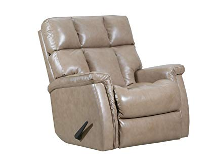 WEEKLY or MONTHLY. Super Value Recliner in Taupe