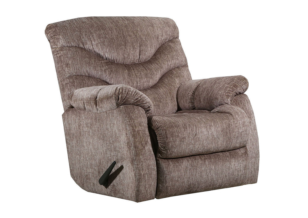 WEEKLY or MONTHLY. Alecio Recliner in Taupe