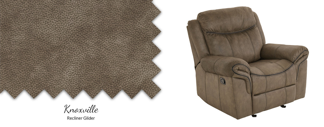 WEEKLY or MONTHLY. Knoxville Glider Recliner