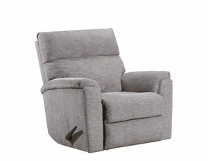 WEEKLY or MONTHLY. Handwoven POWER Rocker Recliner in Pewter
