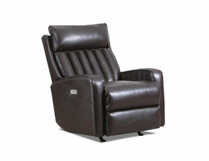 WEEKLY or MONTHLY. Kadesh Pool Leather POWER Rocker Recliner