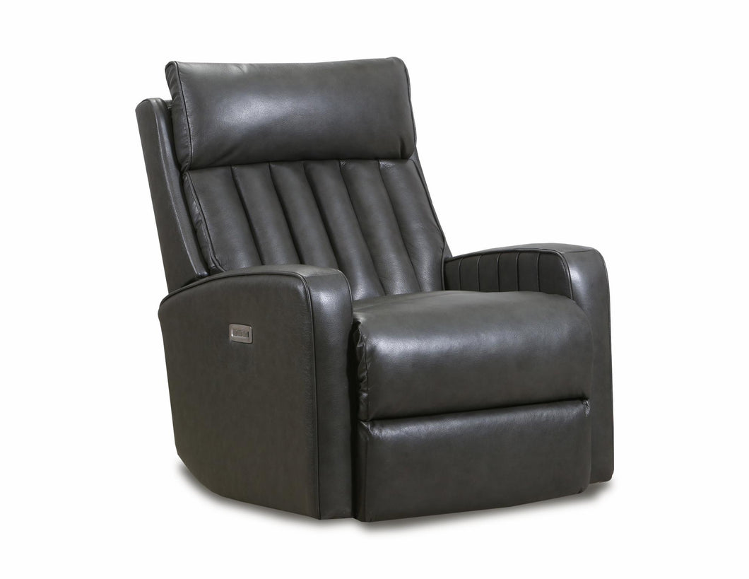 WEEKLY or MONTHLY. Kadesh Gray Leather POWER Rocker Recliner