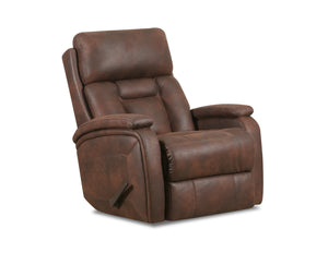WEEKLY or MONTHLY. Bashan Charcoal POWER Rocker Recliner