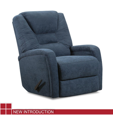 WEEKLY or MONTHLY. Azure Blue Keaton Recliner