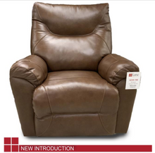 WEEKLY or MONTHLY. Genuine Leather Chestnut Shadow Recliner