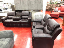 WEEKLY or MONTHLY. Comfy Roasted Chestnut Sectional