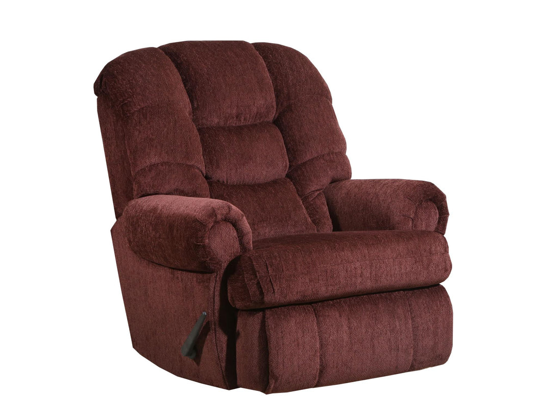WEEKLY or MONTHLY. Torino Red POWER Rocker Recliner