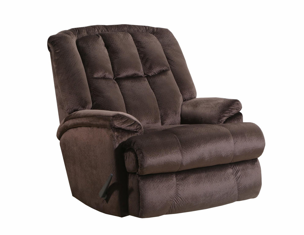 WEEKLY or MONTHLY. Chocolate Maximus POWER Rocker Recliner