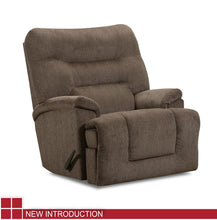 WEEKLY or MONTHLY. Scandinavia POWER Rocker Recliner in Lead