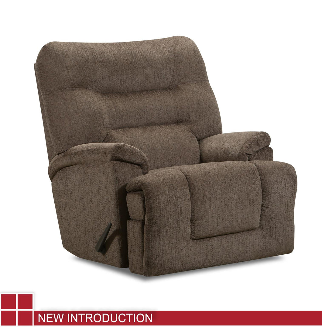 WEEKLY or MONTHLY. Scandinavia POWER Rocker Recliner in Walnut