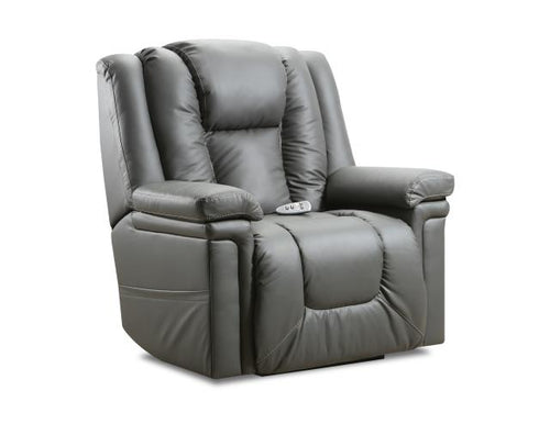 WEEKLY or MONTHLY. Patriot Gray Lift Recliner with Heat and Massage