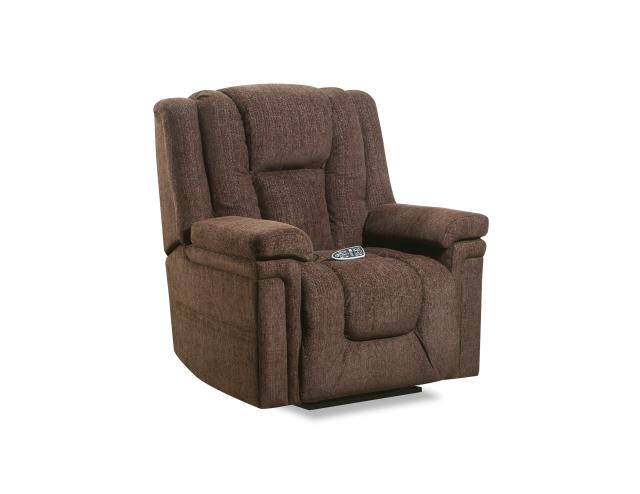 WEEKLY or MONTHL. Sophia Lift Recliner with Heat and Massage in Brown