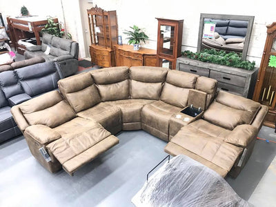 WEEKLY or MONTHLY. Austin Is Waiting Sectional