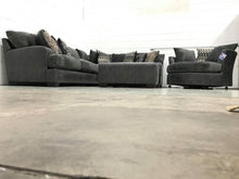 WEEKLY or MONTHLY. Charles Wesley Senior Charcoal Sectional