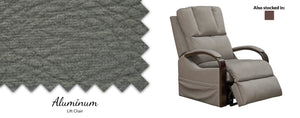 WEEKLY or MONTHLY. Chandler Walnut Lift Chair with Heat and Massage