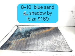 Blue Sand Wave Shadow by Ibiza
