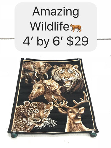Amazing Wildlife Rug
