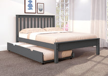 WEEKLY or MONTHLY. Full Contemporary Bed in Dark Grey