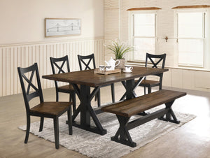 WEEKLY or MONTHLY. Lexington Dining Table & 4 Side Chairs & Bench