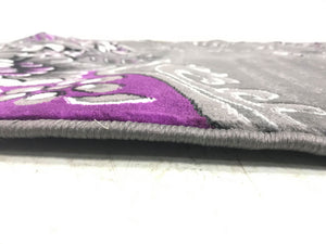 Precious Purple with the Shades of Grey and Gorgeous Floral Design