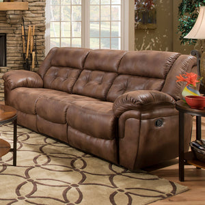 WEEKLY or MONTHLY. Wisconsin Chocolate Couch Set