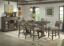 WEEKLY or MONTHLY. Charles the Second Counter Table  & 4 Upholstered Side Chairs