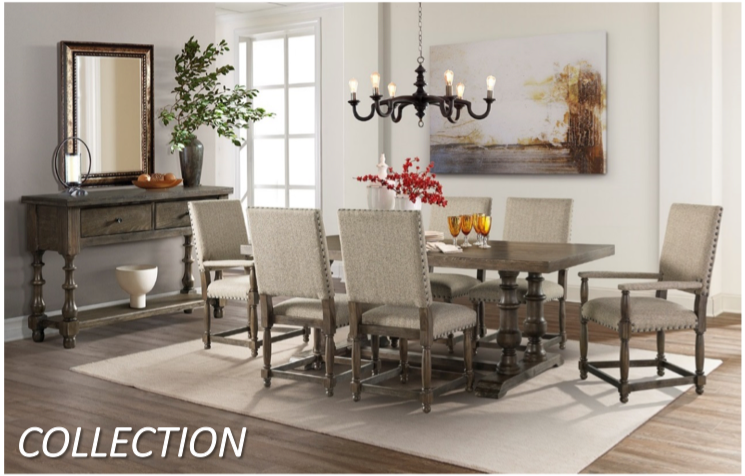WEEKLY or MONTHLY. Charles in Town  Dining Set