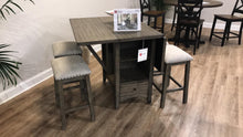 WEEKLY or MONTHLY. M-Base Pub Height Table & 6 M-Back Pub Chairs