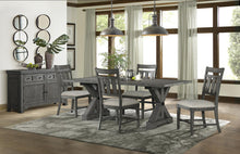 WEEKLY or MONTHLY.  Old Forge Trestle Dining Table & 4 Chairs