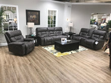 WEEKLY or MONTHLY. Dorado Charcoal POWER Couch Set
