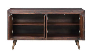 WEEKLY or MONTHLY. Brown Diamonds Media Console