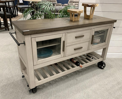 WEEKLY or MONTHLY. Abacus Kitchen Cart