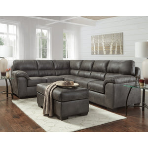 WEEKLY or MONTHLY. Awesome Ashen Gray Sectional