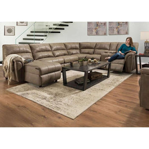 WEEKLY or MONTHLY. Zoomie Mushroom Chaise Sectional, MANUAL