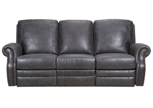 WEEKLY or MONTHLY. Badlands Dark Grey POWER Couch Set