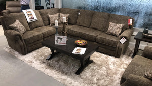WEEKLY or MONTHLY. Handwoven Sectional