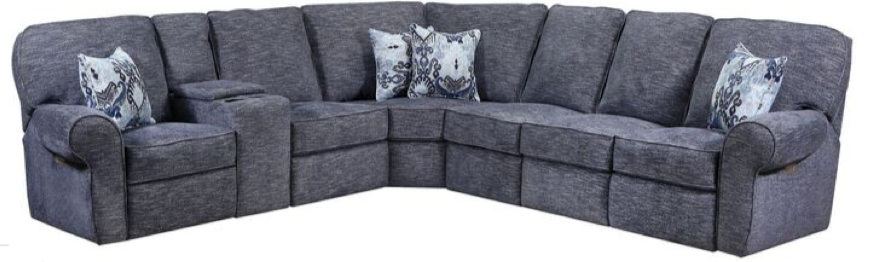 WEEKLY or MONTHLY. Handwoven Heather Gray Sectional