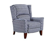 WEEKLY or MONTHLY. Gillian High Leg Recliner in Sapphire