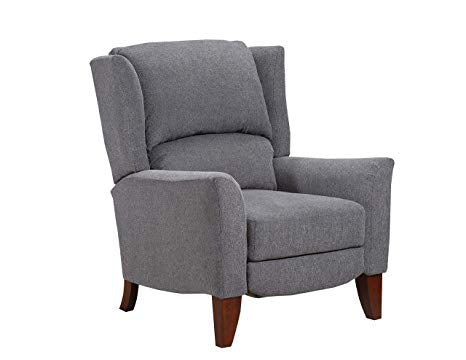 WEEKLY or MONTHLY. Lorna High Leg Recliner in Storm