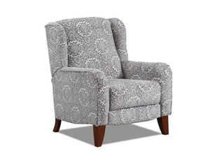 WEEKLY or MONTHLY. Anne of Ava High Leg Recliner in Driftwood