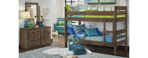 WEEKLY or MONTHLY. Twin/Twin Chestnut Bunkbed