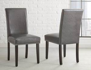 WEEKLY or MONTHLY. Verily, Verily Verano Round Table & 4 Gray Side Chairs