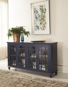 WEEKLY or MONTHLY. Precious Sapphire Accent Console