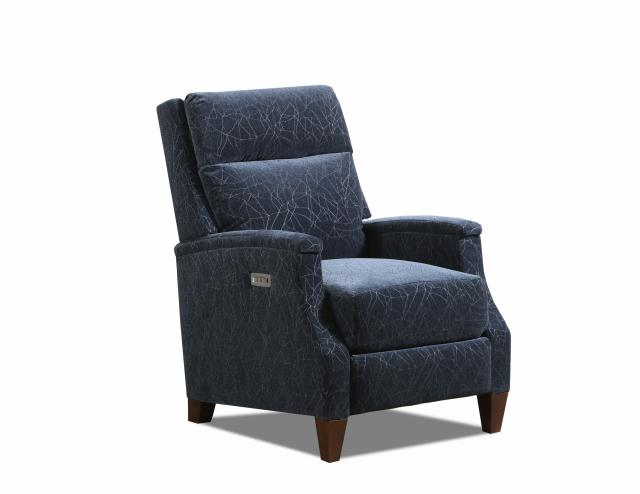 WEEKLY or MONTHLY. Indigo Equinox High Leg Double Power Recliner